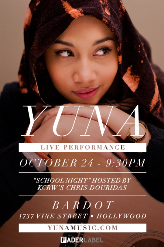 Yuna BARDOT 2 Contest: Win Tickets To See Yuna in Hollywood