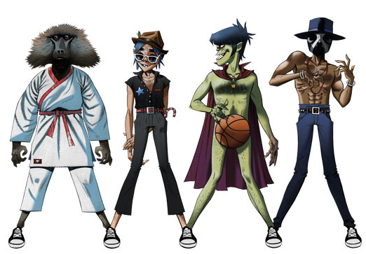 gorillaz Gorillaz, Andre 3000 & James Murphy   Do Ya Thing