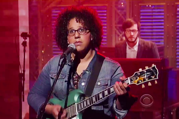 alabama shakes Video: Alabama Shakes Perform Hold On On Letterman