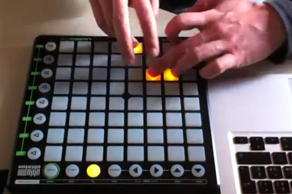 creadno música Dubstep con solo una tableta táctil