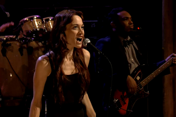 fiona apple5 Video: Fiona Apple Performs On Jimmy Fallon