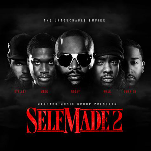 mmg self made 2 cover Gunplay, Stalley, Wale, Meek Mill, Rick Ross & Kendrick Lamar   Power Circle