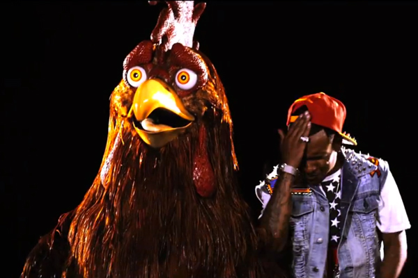 Waka Flocka Rooster In My Rari