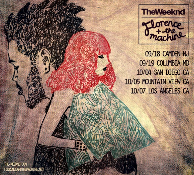 Florence + The Machine and The Weeknd Announce Tour
