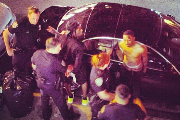 asap A$AP Rocky Arrested In New York City