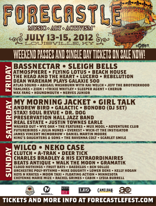 Win Tickets To Forecastle Festival
