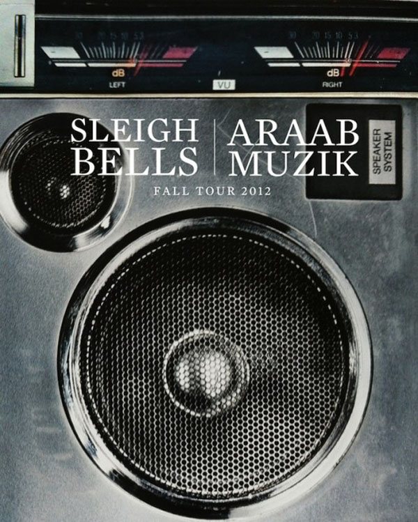 Sleigh Bells & AraabMuzik To Tour Together