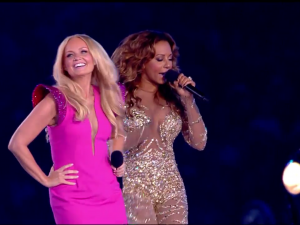 spice girls 7 300x225 Watch The Reunited Spice Girls Perform At The Olympics Closing Ceremony