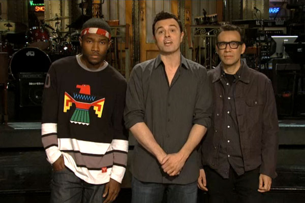 frank ocean SNL Video: Frank Ocean In The New Saturday Night Live Promo