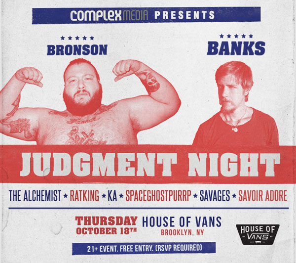 Judgmentnight Poster 1 Action Bronson and Paul Banks To Headline Complex Medias Judgment Night