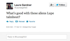 Screen shot 2012 10 17 at 11.50.36 AM 300x177 25 Hilarious Tweets About Lupe Fiascos Alien Encounter