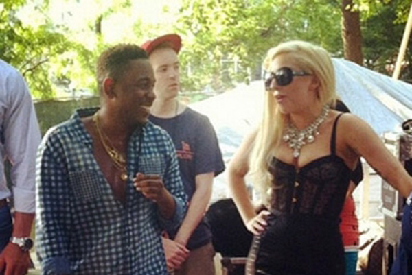 kendrick lamar lady gaga 400x300 Lady Gaga On Not being on Kendrick Lamar's Album