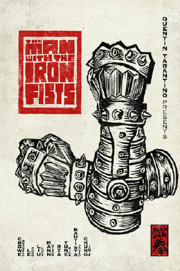 mwtif Contest: The Man With The Iron Fists Prize Pack Giveaway