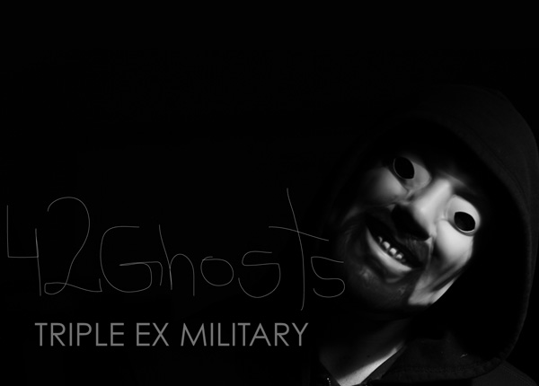 42GHOSTS1 Album Premiere: 42 Ghosts   Triple Ex Military