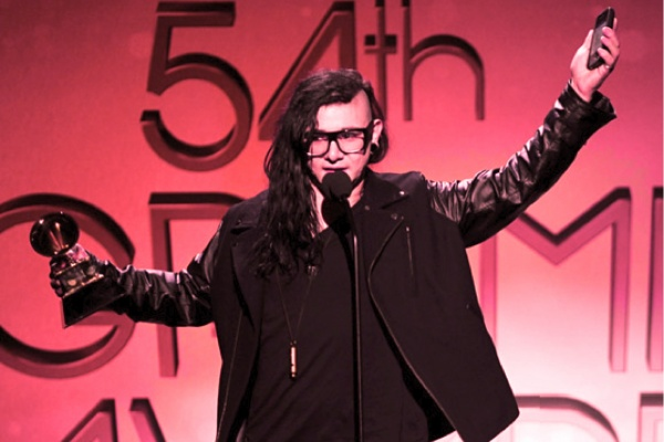 SKRILLEX-54TH-GRAMMYS