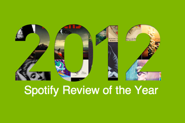 spotify Spotifys Most Popular Tracks of 2012