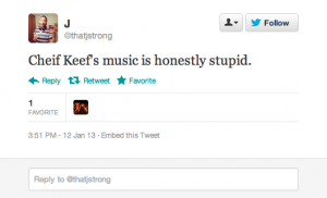 Screen Shot 2013 01 15 at 8.55.02 AM 300x182 25 People Who Call Chief Keef Stupid but Cant Spell Chief