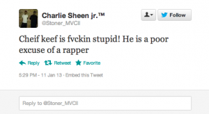 Screen Shot 2013 01 15 at 8.55.30 AM 300x164 25 People Who Call Chief Keef Stupid but Cant Spell Chief