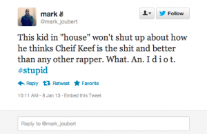 Screen Shot 2013 01 15 at 9.02.55 AM 300x194 25 People Who Call Chief Keef Stupid but Cant Spell Chief