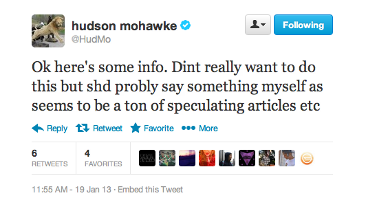 Screen Shot 2013 01 19 at 1.21.06 PM Hudson Mohawke Confirms Signing With Kanye as a Producer