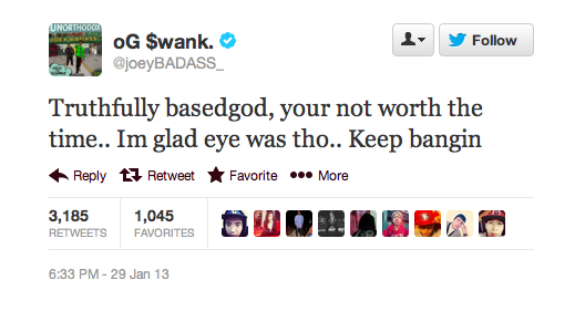 Screen Shot 2013 01 30 at 2.43.25 AM Joey Bada$$ Responds With Lil B Diss Track