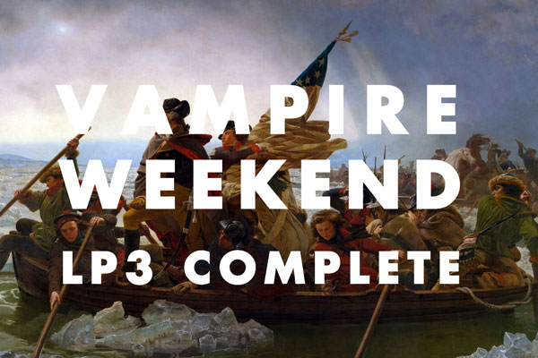 vampire weekend New Vampire Weekend Album Due in May