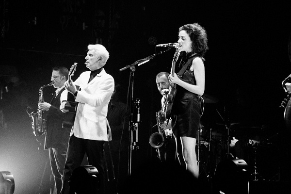 st vincent david byrne 1 162340357327.jpg article gallery slideshow v2 David Byrne and St. Vincent Announce North American Tour