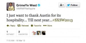 111224 300x150 The Week on Twitter: SXSW Edition