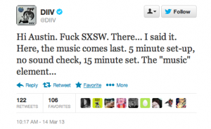 111619 300x183 The Week on Twitter: SXSW Edition