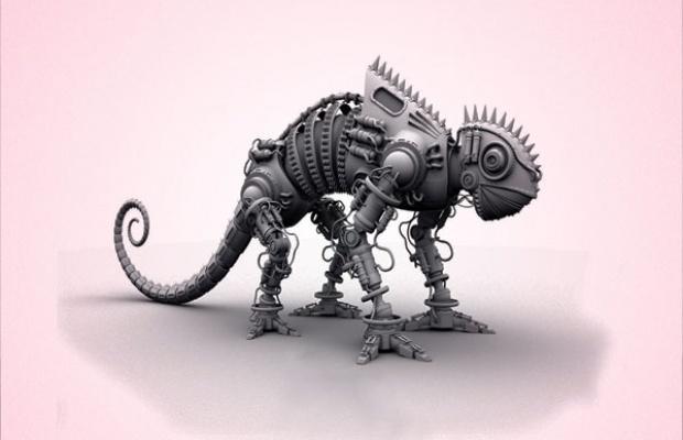 EDM-robot-iguana