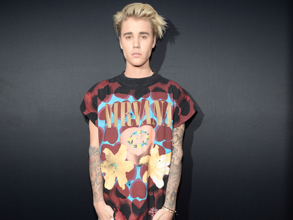 Courtney Love Approves of Justin Bieber's $1,500 Nirvana T-Shirt