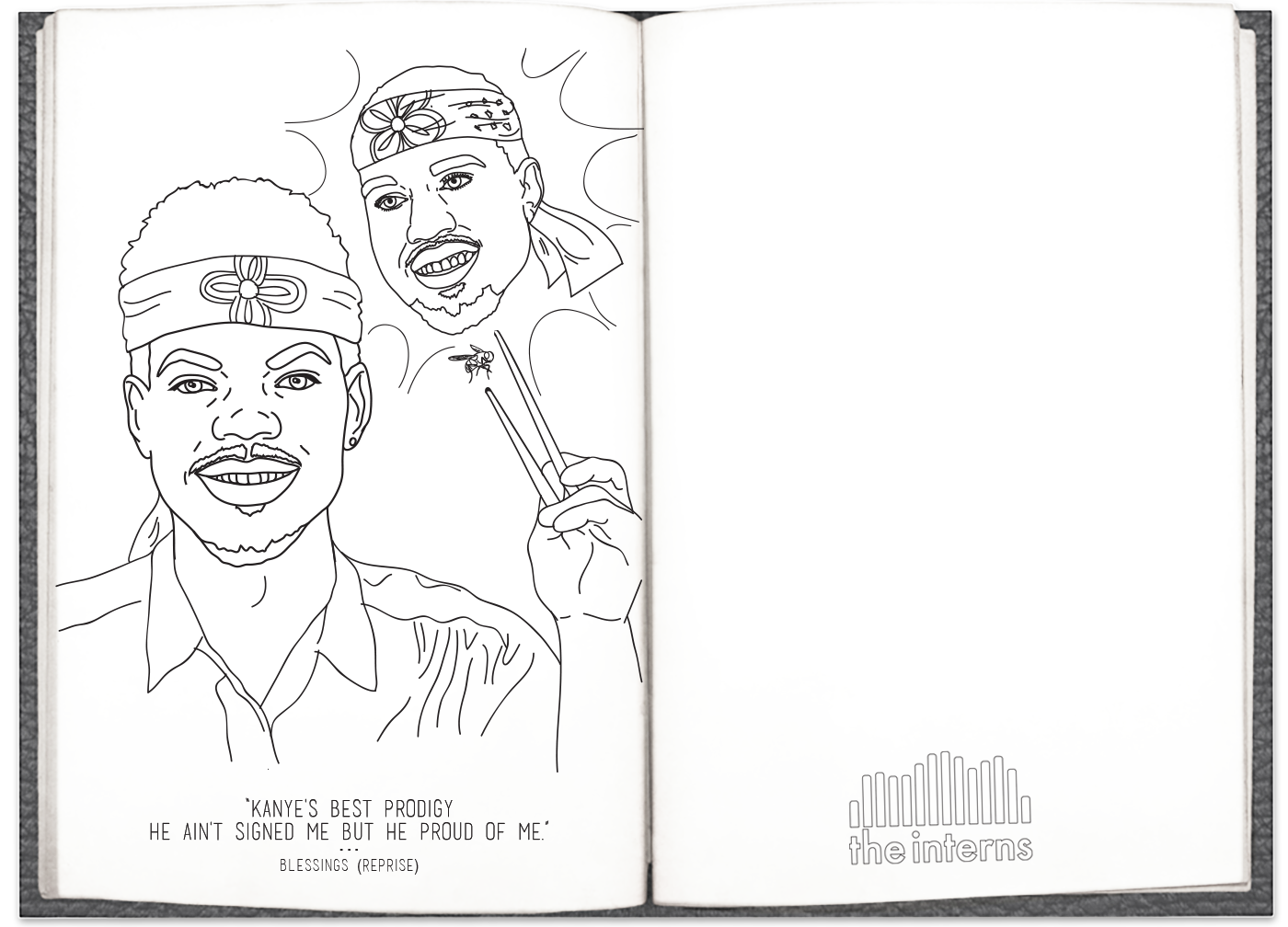 Chance The Rappers Coloring Book Lyrics Are Now A